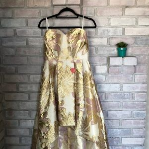 Formal vibrant gown